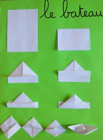 tutoriel origami maternelle